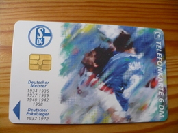 Phonecard Germany O 1311 Schalke, Football 5.000 Ex. - Germania