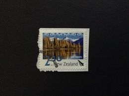 2009 NEW ZEALAND LAKE WANAKA 2.30 $ FRANCOBOLLO USATO STAMP USED - Nuova Zelanda