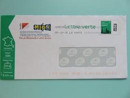 PAP - Entier Postal - Monuments Tour Eiffel - MIG 12 - Route De Bournac - St Affrique (12)  05.12.18 - Entiers Postaux