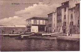 83STR14- ST. TROPEZ - Un Coin Du Port Et Le Café Du Phare - Saint-Tropez