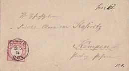 DR Brief EF Minr.19 K1 Colberg 13.5.74 - Briefe U. Dokumente