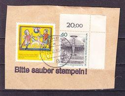 Briefstueck, MiF Berlin Weihnachtsmarke U.a., OT Muenchen, 1980 (61319) - BRD