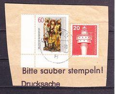 Briefstueck, MiF Riemenschneider U.a., OT Muenchen, 1981 (61320) - BRD
