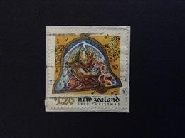1999 NEW ZEALAND NATALE CHROSTMAS 1.20 $ FRANCOBOLLO USATO STAMP USED - Nuova Zelanda