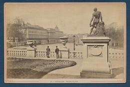 Belgique  - BRUXELLES - Palais Du Roi - Photo 19e Collée Sur Carton - Anciennes (Av. 1900)