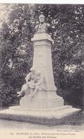 NANTES Monument De Jules Verne Au Jardin Des Plantes ( Vassellier 136 ) - Nantes