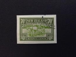 1989 NEW ZEALAND THE LAND SETTLERS 70 C FRANCOBOLLO USATO STAMP USED - Nuova Zelanda