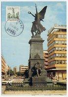 YUGOSLAVIA 1972 Definitive 0.50 D. Krusevac (green) On Maximum Card. Michel 1476 - Maximum Cards