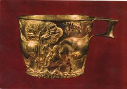 ATHENES MUSEE DE ACROPOLE-gold Cup From Vaphio - Sculture