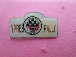 PIN'S    YPRES   RALLYE - Rallye
