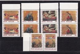 1990 Vaticano Vatican NATALE CHRISTMAS 2 Serie Di 5v. Coppia MNH** - Vaticano