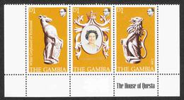 Gambia - Scott #380 A-c MNH - Gambie (1965-...)