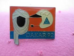 PIN'S      DAKAR 92   I S C T - Rallye