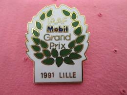 PIN'S     MOBIL  GRAND PRIX   I A A F  LILLE 1991 - Rallye