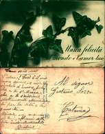 10466a)cartolina  Unica Felicita' Al Mondo E' L'amor Tuo - Cartes Postales