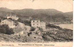 83TRA5- LE TRAYAS  , Vue Panoramique , Estérel Hôtel - Frankreich