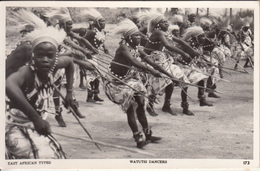 WATUTSI DANCERS  EAST AFRICAN TYPES - Cartes Postales