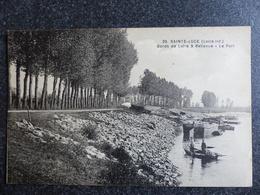 SAINTE LUCE Bords De Loire à Bellevue Le Port Inférieure Atlantique 44 Collection F.CHAPEAU - Other Municipalities