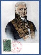 Carte 1er Jour  / Nicolas Desgenettes / Luxeuil Les Bains / 16-12-72 - Maximum Cards