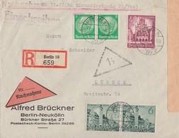 DR R-NN-Brief Mif Minr.2x 515,2x 740,759 Berlin 7.2.41 - Deutschland