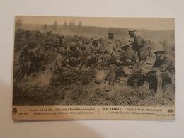 Guerre 1914-15 - Officiers D'Etat Major Anglais Questionnant Des Officiers Turcs Prisonniers - Bon état - Guerre 1914-18