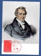 Carte 1er Jour  / Broussais / Luxeuil Les Bains / 16-12-72 - Maximum Cards