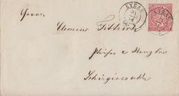 NDP Brief EF Minr.4 K2 Eybau 21.8.68 - Norddeutscher Postbezirk