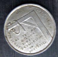 POLOGNE POLAND MEDAILLE COMMEMORANT LE SOULEVEMENT DE CRACOVIE DE 1846 POTENCE ET CORDE - Entriegelungschips Und Medaillen