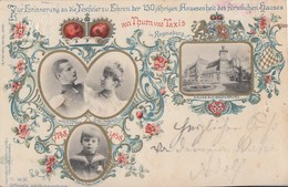 Bayern PP-GS Minr.PP15 Zur Erinnerung Zu Ehren Der 150 Anwesenheit Des Fürstl. Hauses Von T&T Regensburg - Bayern