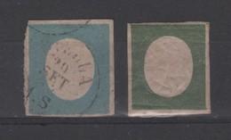 Italie _ Pierre Emmanuel II (1854 )n°7/8 - Sardaigne