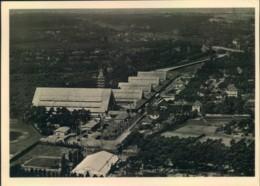 Olympia 1936, Luftbild K.d.F. Stadt Mit Entsprechendem Sonderstempel - Jeux Olympiques