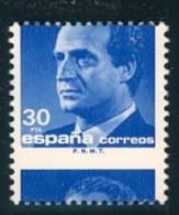 1987, 30 Pta. Juan Carlos Shifted Print - Expertised Graus - Variedades & Curiosidades