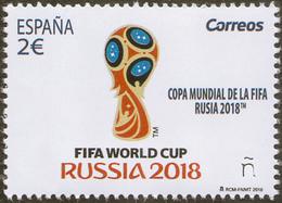 2018 SPAIN ESPAGNE ESPAÑA  Football. FIFA World Cup In Russia - 2018 – Russland
