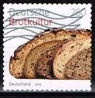 Bund 2018, Michel# 3390 O  Deutsche Brotkultur Selbstklebend Aus Markenheft 110 - [7] République Fédérale