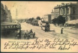 "1907, Ppc ""King Illiam Street"", Ideal Franking And LAROS BAY Postmark - Australie"