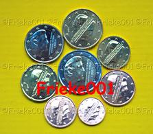 Nederland - Pays-Bas - 1 Cent Tot 2 Euro Unc 2018. - Pays-Bas