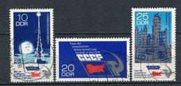 DDR Nr.1887/9      O  Used   (21567) (Jahr:1973) - DDR