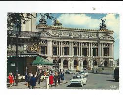 CPM 75 Paris Opéra Et Cafe La Paix 606 Ed Chantal Un Pli - Sin Clasificación