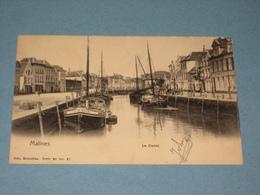 (K418) MECHELEN - Le Canal - Uitg. Nelsa Série 30 N°87 - Malines