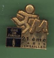 GAZ DE FRANCE *** 21 Eme PARIS-VERSAILLES *** EDF-03 - EDF GDF