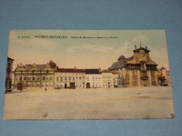 (K422) MECHELEN - Veemarkt, College En Kerk - Uitg. Spanoghe N°20 - Malines