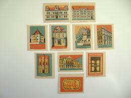 Czechoslovakia Series 20 Matchbox Label 1964 - Czech Museums - Boites D'allumettes - Etiquettes