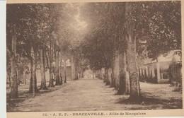 CPA - 32 - A. E. F. - BRAZZAVILLE - ALLÉE DE MANGUIERS - PIERRE BARREAU - Brazzaville