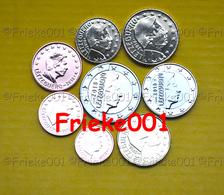 Luxemburg - Luxembourg - 1 Cent Tot 2 Euro Unc 2018.(Met De 2 Euro Met Muntteken/Avec Mintmark) - Luxembourg