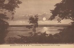 CPA -  A. E. F. - BRAZZAVILLE - LA CORNICHE - PANORAMA SUR LE CONGO - PIERRE BARREAU - Brazzaville
