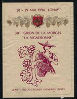 """Rare // Etiquette De Vin // Musiques // Lonay, Giron De La Morges """"La Vigneronne"""" - Musique"""