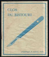 Rare // Etiquette De Vin // Médecine // Cully, Clos Du Bistouri - Etiketten