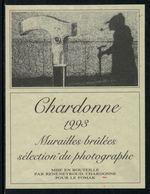 Rare // Etiquette De Vin // Art-Photographie // Chardonne, Sélection Du Photographe - Art