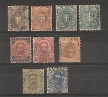 Italie _ Hubert 1er Armoirerie (1891 ) N°55/63 - 1878-00 Humbert I