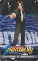 Télécarte Japon / 110-016 - MANGA - KING OF FIGHTERS - ANIME Japan Phonecard ** SNK ** - 10879 - Comics